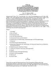 10. Februar 2003 - Johannes Gutenberg-Universität Mainz