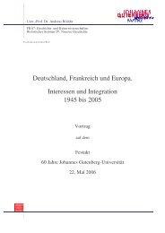 Rede von Prof. Dr. Andreas Roedder - Johannes Gutenberg ...