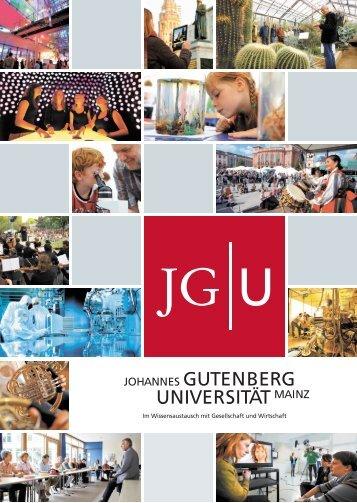 AZ-Beilage - Johannes Gutenberg-Universität Mainz