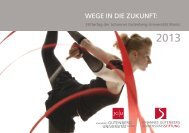 WEGE IN DIE ZUKUNFT: - Johannes Gutenberg-Universität Mainz