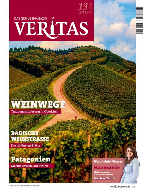 VERITAS - Das Genussmagazin / Ausgabe - 13-2014