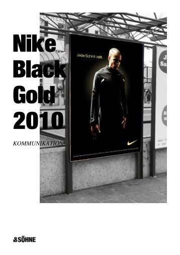 Case Study nike Black Gold v1.1