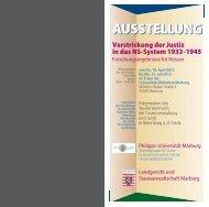 15. Juli 2013 - Philipps-Universität Marburg