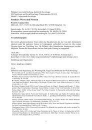 Seminar: Werte und Normen, WS 2013/14 (PDF) - Uni-marburg.de