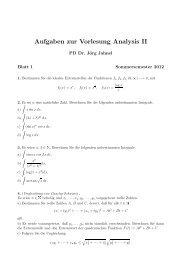 AnalysisII 1 - GWDG