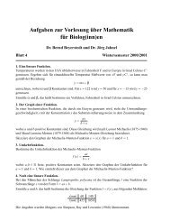 bio 4.pdf - Mathematisches Institut
