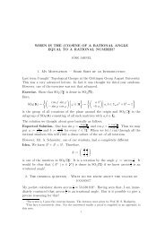 SINE OF A RATIONAL ANGLE EQUAL TO A RATIONAL NUMBER?