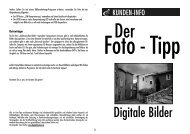 Digitale Bilder - Optimal Foto