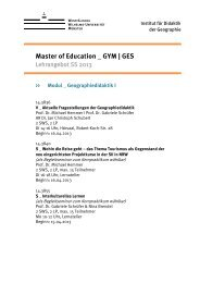 Master of Education _ GYM | GES