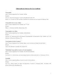 Zitierregeln des Seminars für Alte Geschichte
