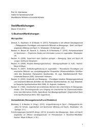 Veröffentlichungen - Westfälische Wilhelms-Universität Münster