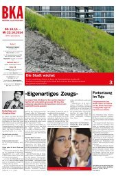 Berner Kulturagenda 2014 N° 42