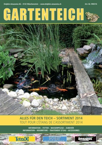 Katalog Gartenteich 2014