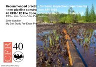API 1169-Part 40 CFR 112 -EPA Oil Pollution Prevention