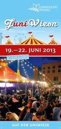 19.–22. juni 2013 - Universität Passau