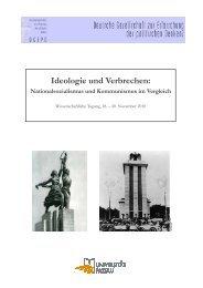 Tagungsprogramm - Deutsche Gesellschaft zur Erforschung des ...