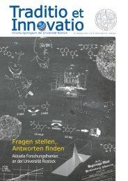 Ausgabe1/2013 - Universität Rostock