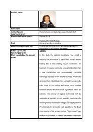 Kontakt/ contact Name/ name Habte lemji Institut/ Fakultät ...