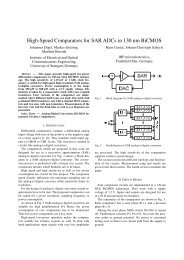 High-Speed Comparators for SAR ADCs in 130 nm BiCMOS