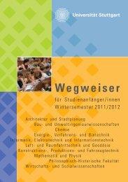 Wegweiser - Universität Stuttgart
