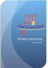 Periodico Institucional 1er Semestre 2014