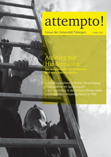 Aufstieg mit Hindernissen - Universität Tübingen