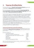 Die Infobroschüre der Auftakttage 2013 finden ... - Universität Vechta - Seite 4