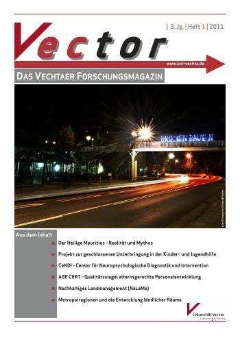 Download Vector, Heft 1 / 2011 - Universität Vechta