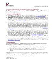 Auswertung der Umfrage zu Sprachkursangeboten in der ...
