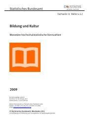 Monetäre hochschulstatistische Kennzahlen - Universität Vechta