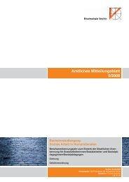 Amtliches Mitteilungsblatt 5/2008 - Universität Vechta