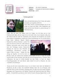 Erfahrungsbericht Braemar Castle von Britta-Maria Kobus