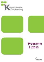 Programmheft 2/2013 - Universität Vechta