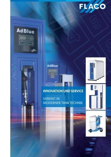 innovation und Service VEREINT IN ... - Flaco-Geräte Gmbh