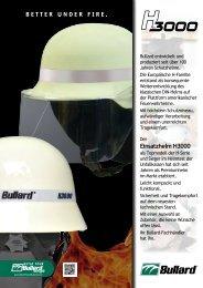 Einsatzhelm H3000 … die Funktionen - Bullard