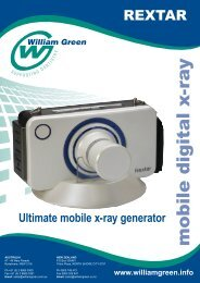 Download the Rextar Mobile Digital X-Ray Brochure