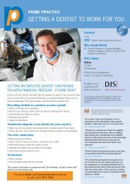getting a dentist to work for you - Australian Dental Association Inc.