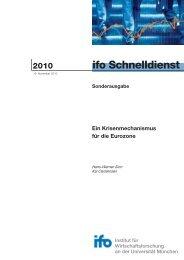 ifo Schnelldienst - FDP-Bundestagsfraktion