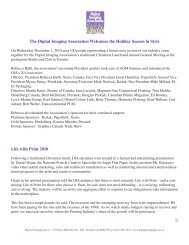Life With Print - 2010 Summary Article - Digital Imaging Association