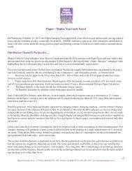 Paper - Makes You Look Good - Digital Imaging Association