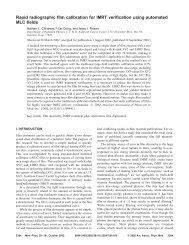 Rapid radiographic film calibration for IMRT verification using ...