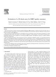 Evaluation of a 2D diode array for IMRT quality assurance.pdf
