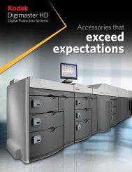 exceed expectations - Kodak