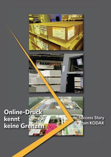 Online-Druck kennt keine Grenzen - Kodak