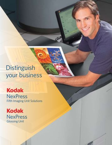 Distinguish your business - Kodak