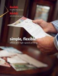 simple, flexible - Kodak