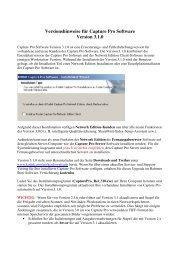Versionshinweise für Capture Pro Software Version 3.1.0 - Kodak