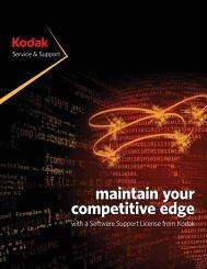 Download the brochure - Kodak