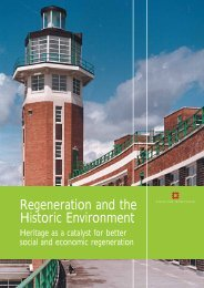 Regeneration and the Historic Environment: Heritage as a catalyst ...
