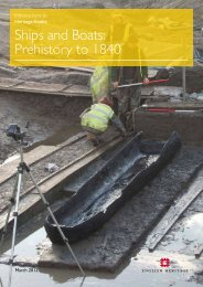 Introductions to Heritage Assets. Ships and Boats ... - English Heritage